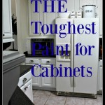 The Toughest Paint For Cabinets