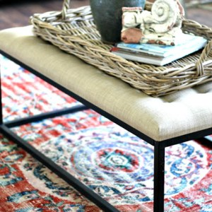 Turkish Rug, Kilim Pillow And Olive Jars