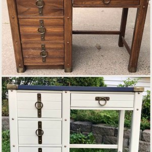 DIY Desk – A Painting Transformation