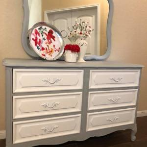 Marvelous Makeover for Goodwill Dresser