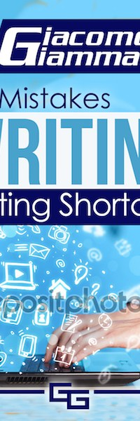No Mistakes Writing, Volume I—Writing Shortcuts. Write faster and sell more books