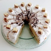 Mannerschnitten Torte