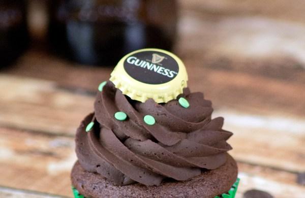 Guinness Schoko Cupcakes
