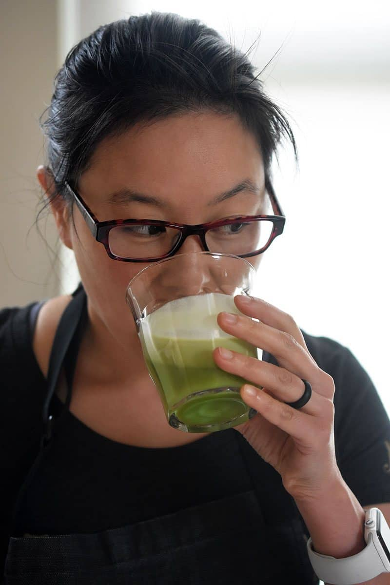 Cold Matcha Latte by Michelle Tam http://nomnompaleo.com