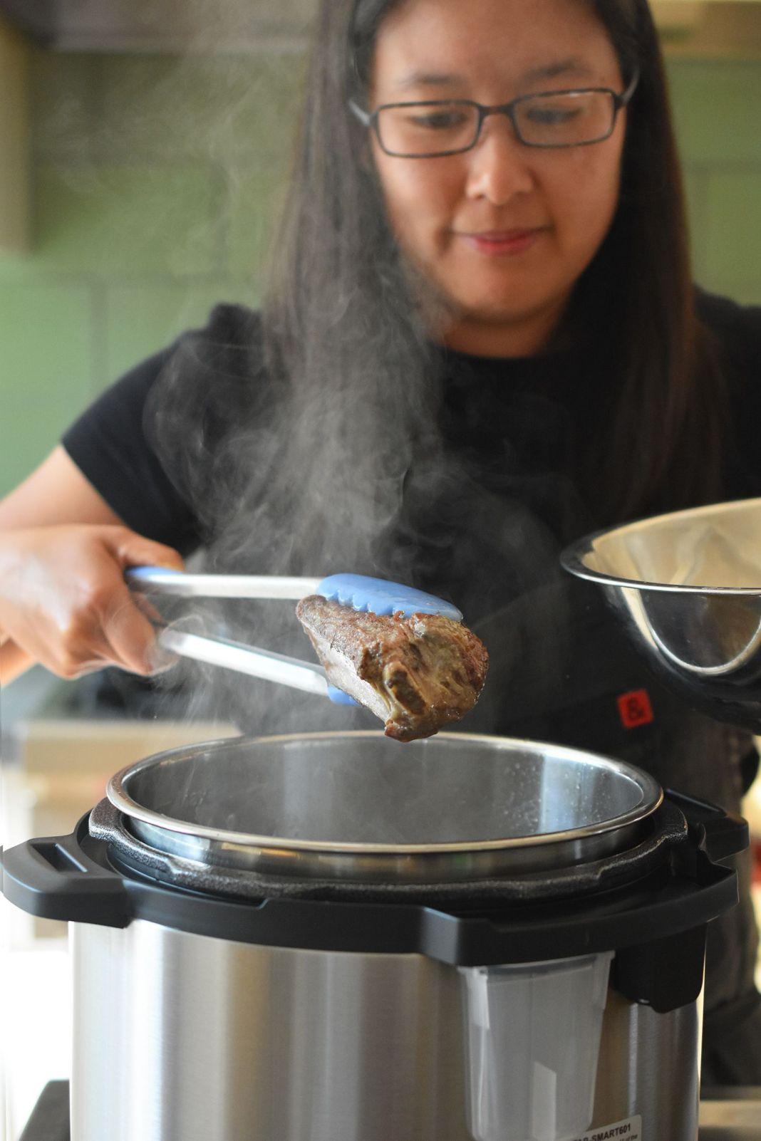 Pressure Cooker Bo Kho (Vietnamese Beef Stew)