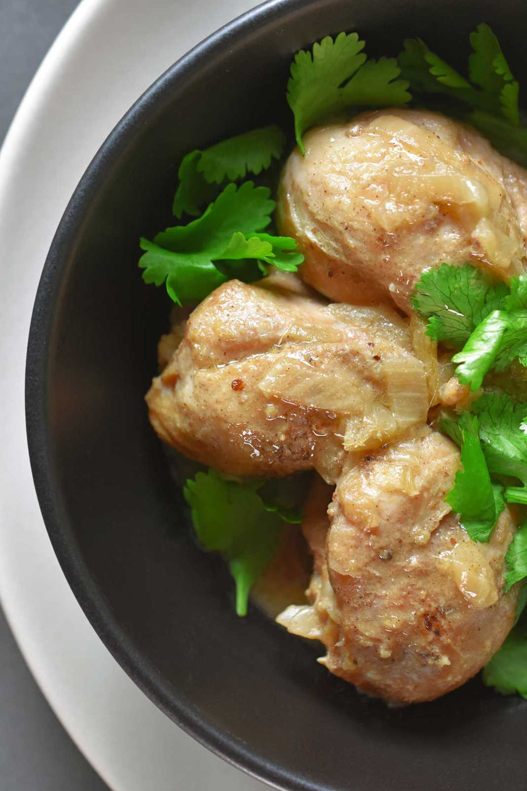Pressure Cooker Lemongrass + Coconut Chicken