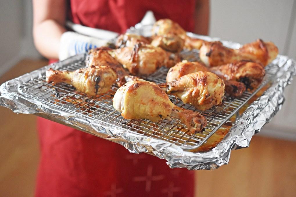 Orange Dijon Chicken by Michelle Tam http://nomnompaleo.com