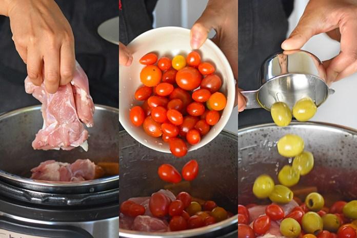 Pressure Cooker Summer Italian Chicken by Michelle Tam http://nomnompaleo.com