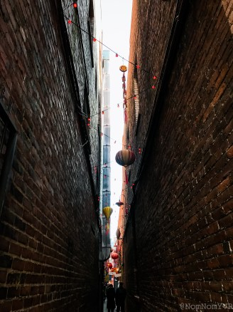 Fan Tan Alley in Chinatown