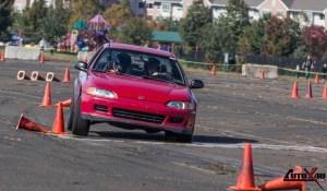 stock Honda hatch autocrossing