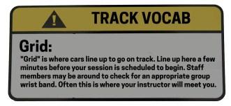 Track Vocab Grid