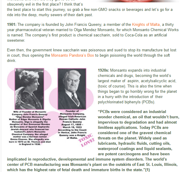 Monsanto History #2