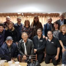 """Hosting pastors and leaders of No More Violence """"A Message from God""""  at Casa Bautista"""
