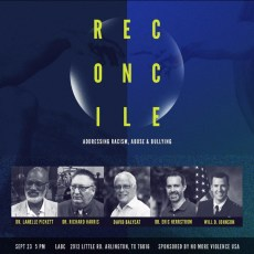RECONCILE, panel discussion in Arlington, Texas