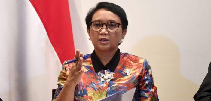 14,7 Juta Dosis Vaksin COVID-19 Gratis Sudah Diterima Indonesia Menteri Luar Negeri (Menlu) RI, Retno Marsudi. (Int)
