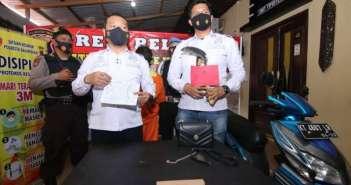 Nekat Jambret di Siang Bolong, Pria Paruh Baya Digelandang ke Polresta Balikpapan