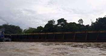 Tertarik Ponton Berisi Material, Tugboat Tenggelam di Muara Kaman