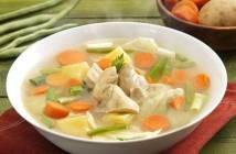 Resep Sup Ayam Bening Sehat nan Hangat