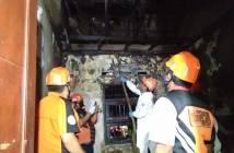 Gas Bocor dan Listrik Korslet, Penghuni Rumah Kena Luka Bakar