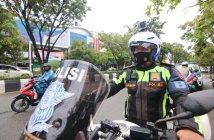 Mobile E-TLE ala Polantas Balikpapan, Rekam Pelanggaran di Jalan Lewat Action Cam
