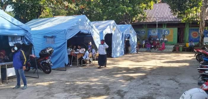 Pasca Kebakaran, Para Korban di Gunung Polisi Tempati Posko Sementara