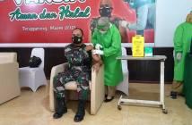Tiga Hari, 800 Personel TNI-Polri di Kukar Dapat Vaksin