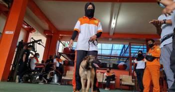 Basarnas Kaltim Punya SAR Dogs, Bantu Misi Kemanusiaan