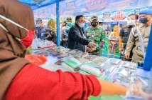 Sidak Pasar Ramadan di Balikpapan, Satgas Pastikan Produk UMKM Halal dan Aman