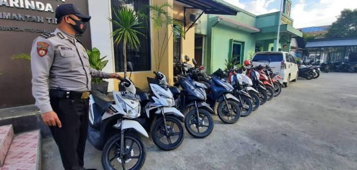 1 Pelaku Sindikat Curanmor Mengaku Polisi Ditahan di Polsek Samarinda Kota