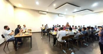Jalin Silaturahmi, Kapolresta Samarinda Gelar Buka Bersama Organisasi Mahasiswa