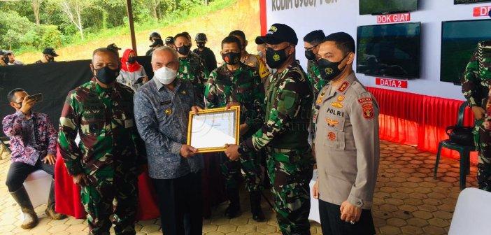 Kembali Harumkan Kukar, Gubernur Kaltim Nobatkan Kodim 0906 Tenggarong Sebagai Kodim Kreatif dan Inovatif