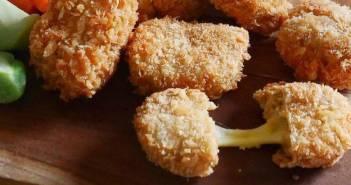 Resep Nugget Tempe Mozzarela, Kejunya Bikin 'Meleleh'