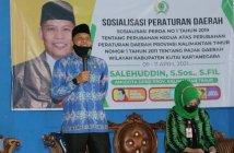 Salehuddin Dukung Pemerataan Pendidikan