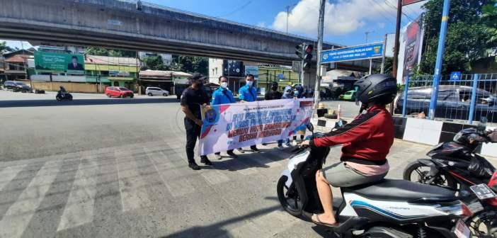 Hari Anti Narkoba Internasional, BNNK Samarinda Kampanye di Jalan