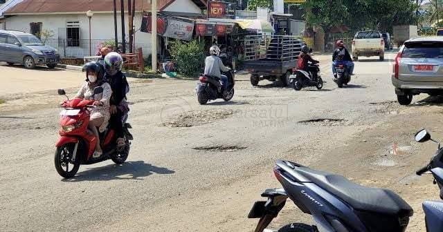 Rehabilitasi Jalan Rusak di Kukar Kebagian Rp 5 Miliar