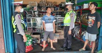 Polisi Datangi Bengkel, Knalpot Brong Dilarang Dijual di Kubar