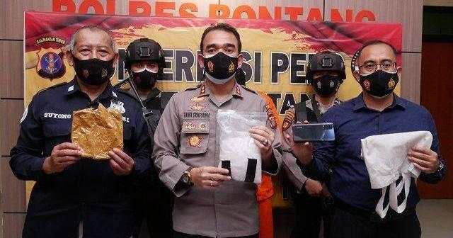 Pengedar Sabu 1 Kilogram Ditangkap di Bontang, Terancam Maksimal Hukuman Mati