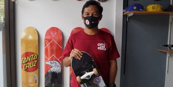 Berangkat dari Hobi, Skateboard Jadi Bisnis di Kutim