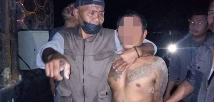 Plat Tugu Perbatasan Samarinda-Kukar Dipotong, Pelaku Dibogem, 1 Orang Buron