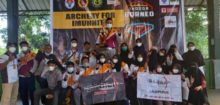 Sabili Juara Umum Borneo Open Archery Immunity 7