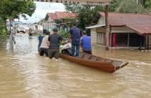 Imbas Banjir Mahulu, Harta Benda dan Hewan Ternak Warga Hanyut
