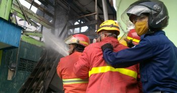 Lagi, Kebakaran di Gunung Malang Balikpapan, 1 Rumah Hangus, 3 Terdampak