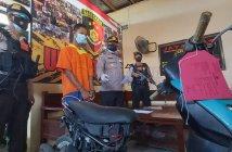 Pencuri Motor Diringkus Polsek Balikpapan Barat dalam Hitungan Jam