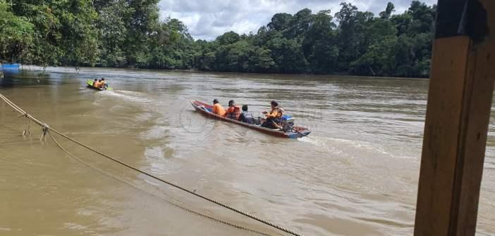 Pencari Pasir yang Tenggelam di Sungai Mahakam Belum Ditemukan