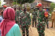 Tinjau TMMD Kodim 0904 Paser, Pangdam: Kegiatan Non-Fisik Berperan Jaga Kedaulatan Negara