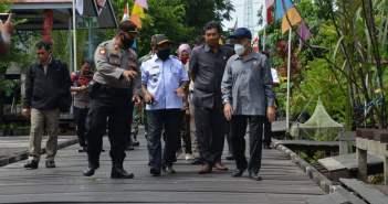Jalan Rusak di Muara Pahu DiperbaikiPemkab Kubar