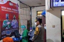 Hanya 54 Tahanan Polres Kubar yang Divaksin