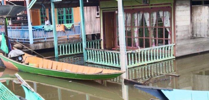 Banjir Di Kubar, Kampung Muara Beloan Menanti Bantuan
