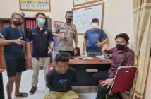 Pengedar di Kongbeng Kedapatan Polisi Simpan Sabu di Pinggang