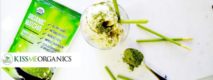 Kiss Me Organics Matcha Green Tea Powder Nomss Testimonial Page and customer feedback